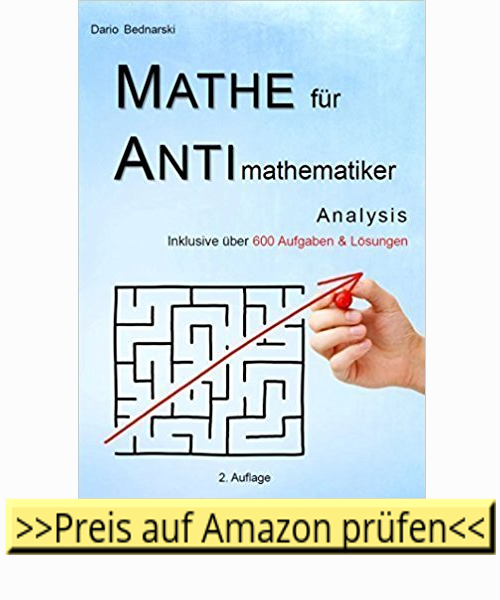 Mathematik für Anti-Mathematiker-Buchcover Link zu Amazon