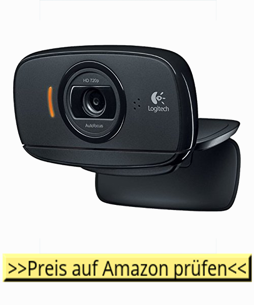 Link zu Amazon - Logitech Webcam